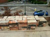 Victorian red bricks