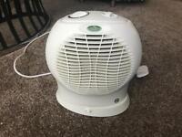 Electric fan heater £12