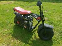 80cc petrol big wheel sand bike motorbike kids (not 110cc 125cc)