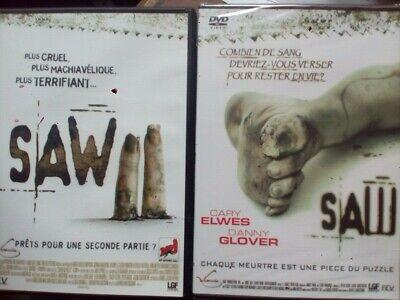 C6 DVD SAW (neuf sous cello) et SAW II