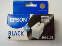 2 x Epson Ink Cartridges - Black and Colour