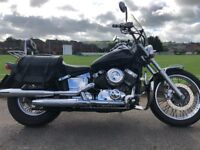 YAMAHA XVS 650 DRAGSTER VERY CLEAN BIKE LOADS OF EXTRAS -LONG MOT ETC £1999