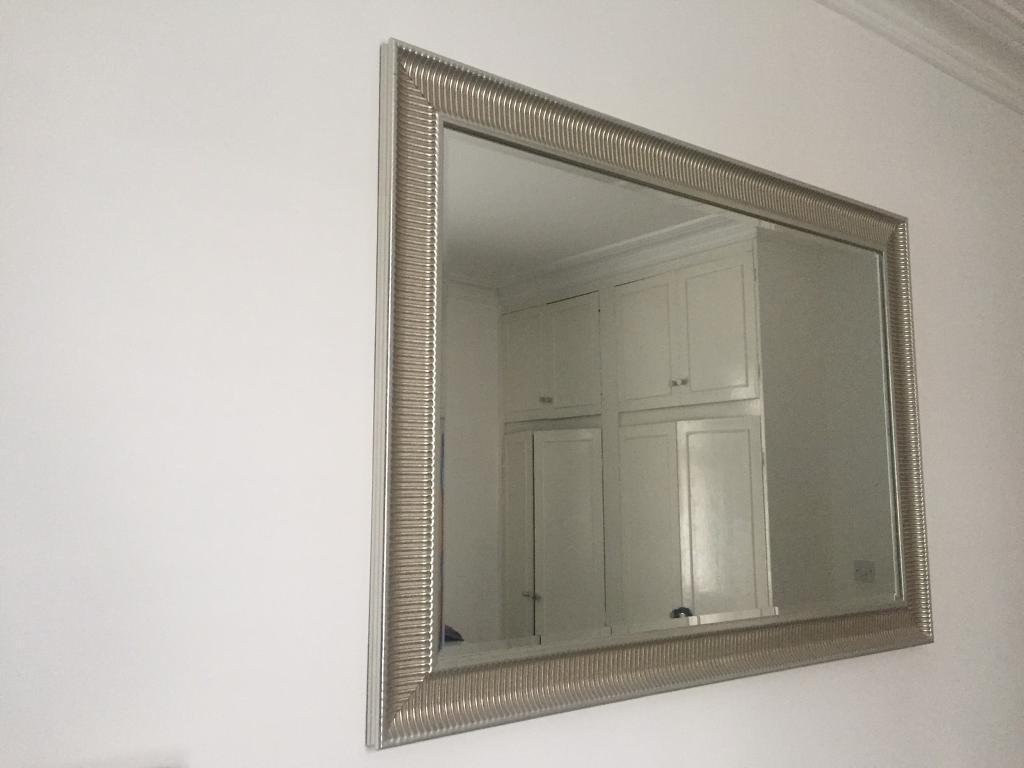 Ikea Songe Silver Color Mirror In Hampstead London