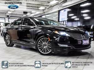 2015 Lincoln MKZ Hybrid, Roof, Navi, Cool seats, Heated Steering