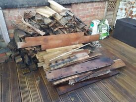 FREE WOOD!! Collection only.