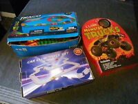 BOYS TOYS - BUNDLE OF CAR RELATED TOYS. ORIGINAL BOXES. VERY GOOD CONDITION.