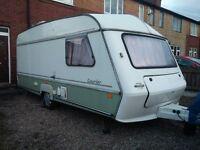 ABI Jubilee Courier 4 Berth Caravan, Solid and Dry Inside