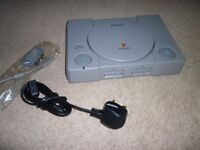 Sony Playstation PS1 in immaculate condition - works perfectly