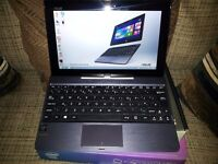 Asus T100TA 10.1, 2-in-1 Touchscreen Tablet Quad Core Intel Atom Z3735F 2GB RAM, 32GB SSD Laptop