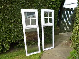Double glaze UPVC windows suitable for shed, garden room, summer house etc.