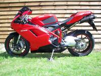 2009 DUCATI 848 - OHLINS SHOCK - £4699