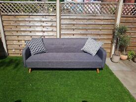 Grey Stylish Sofa Bed