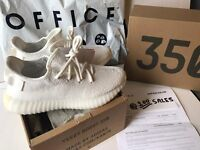 Adidas X Kanye West Yeezy Boost 350 V2 Cream White UK5.5 US6 EU38 OFFICE/OFFSPRING Receipt 100sales