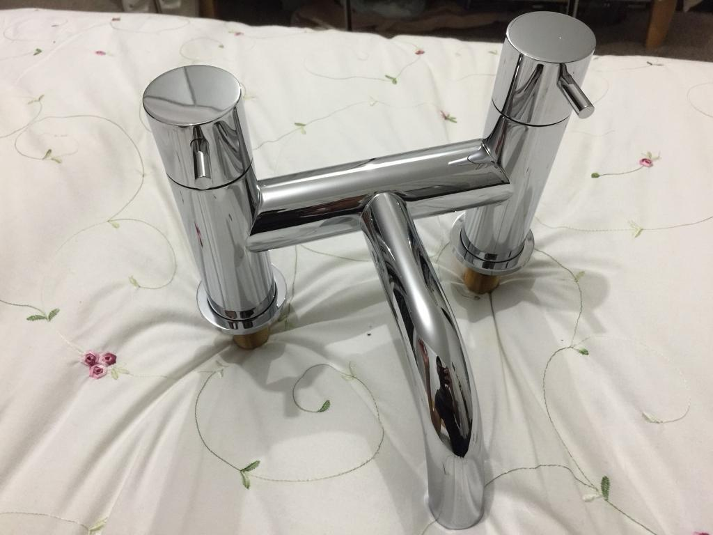 Bath Mixer shower chrome tap bathstore