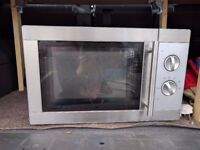 Free working microwave