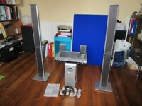 PANASONIC SC-HT855 DVD PLAYER AND DOLBY DIGITAL SOUND SYSTEM