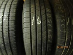 2325/75R15 SINGLE ONLY USED UNIROYAL A/S TIRE