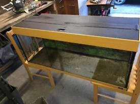 Jewel 4ft fish tank and cabinet