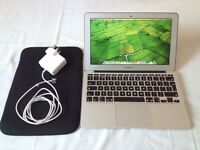 MacBook Air 11'6 Intel HD Graphics 5000 1536 MB Turbo Boost Up to 2.7 GHz 4GB 1600 MHz DDR3 warranty