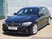 2011 (11 reg), BMW 5 Series 2.0 520d M Sport Touring 5dr, Wide Screen SAT NAV