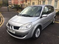 RENAULT GRAND SCENIC 1.6 PETROL,12 MONTHS MOT,LOW MILEAGE,SERVICE HISTORY.