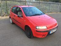 2002*FIAT PUNTO 1.2*ONLY 38000 MILES*10 MONTHS MOT*IDEAL FIRST CAR