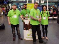 Charity Fundraiser £296-£441 P/W Basic + Uncapped Bonus! No Experience Necessary