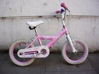 Kids Bike, by Honey, Pink, 14 inch Wheels, Great for Kids 4 Years, JUST SERVICED / CHEAP PRICE!!!!!!