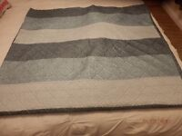 very large duck egg silky throw expensive one