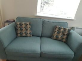 2 seater sofa from Sofology. Barely used!