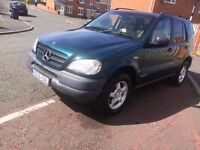 2000 mercedes ml 320 petrol automatic 4x4 full service history excellent condition