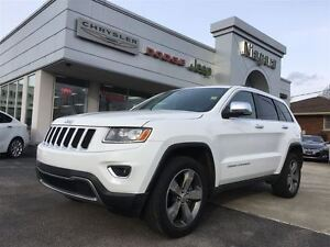 2015 Jeep Grand Cherokee LIMITED,LEATHER,HTD SEAT,WHEEL,REMOTE S