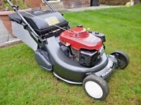 "Honda HRD536 QXE , 21"" Self Propelled Roller Lawnmower. 2013, Serviced"