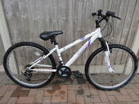 """APOLLO ELUSION"" mountain bike, ideal for small lady or teenager 15"" frame. great condition."