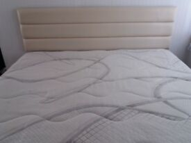 Super kingsize bed really comfortable just over a year old