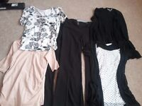 Selection of Maternity Clothes, size 10 (excellent condition)