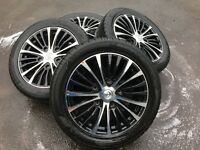 "Ford Transit Custom 18"" Alloy Wheels - Like new!"