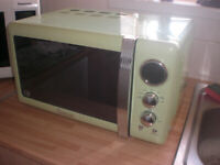 ''SWAN''. Lime digital microwave, and 4 toast toaster..Can deliver local