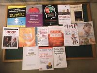 Collection of books (Library full)