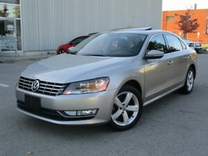2012 Volkswagen Passat 2.0 TDI Comfortline LEATHER SUNROOF