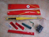 Model Technics - Stika Trim R/C glider, with 2-channel Futaba 27MHz remote