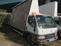 53 plate Mitsubishi canter 35 advertising board van