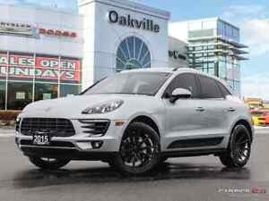 2015 Porsche Macan S | AWD | PANORAMIC SUNROOF | LOW KMS |