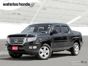 2014 Honda Ridgeline Touring Bluetooth, Back Up Camera, Navig...
