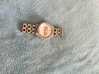 D and g diamanté watch