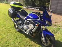 Yamaha FZS 1000 Fazer '03 over £1k spent