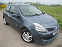 Renault Clio Dynamique 2006 only 45,000 miles FSH ( 9 services ) 1 Owner from new.