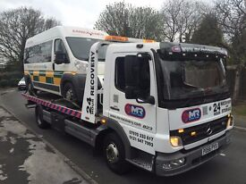 Cheap car recovery and van recovery cheap 24/7 cheap