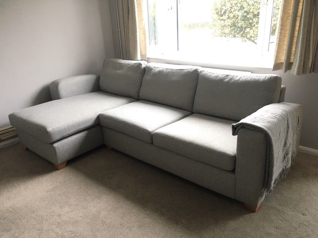 Lydia Left Hand Facing Chaise End 3 Seater Corner Sofa Dfs Rrp900