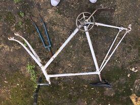 Retro Bike Frame for bike build project